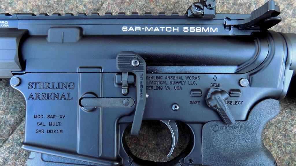 SAR-PREPR Mod2 Match Rifle