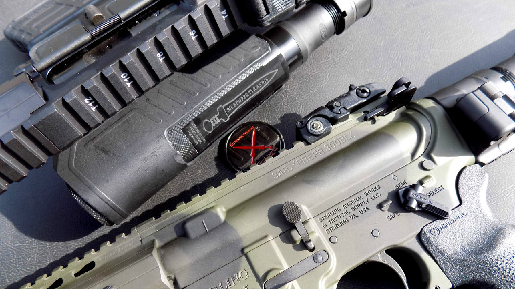 SAR-XV PREPR Mod2 Pistol (b)