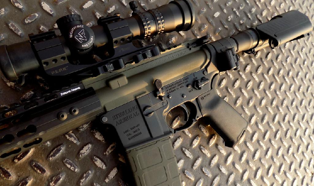 SAR-PREPR Pistol w Optional SAR-PRES and Law Tactical Folder (b)