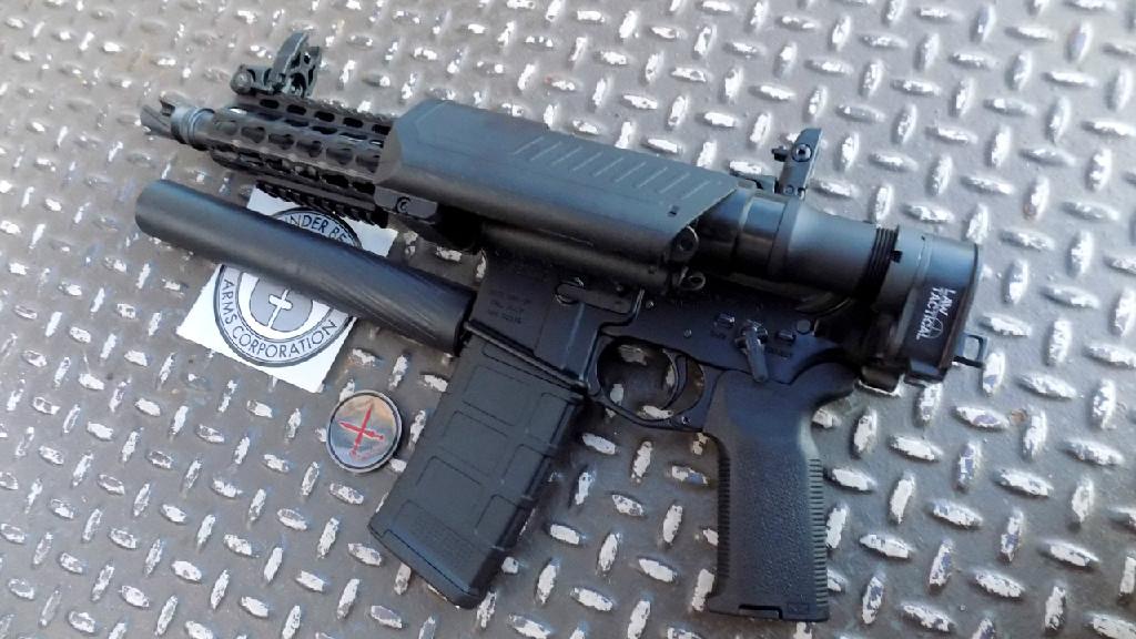 PREP-Pistol Folded w/ Thunder Beast Ultra 9