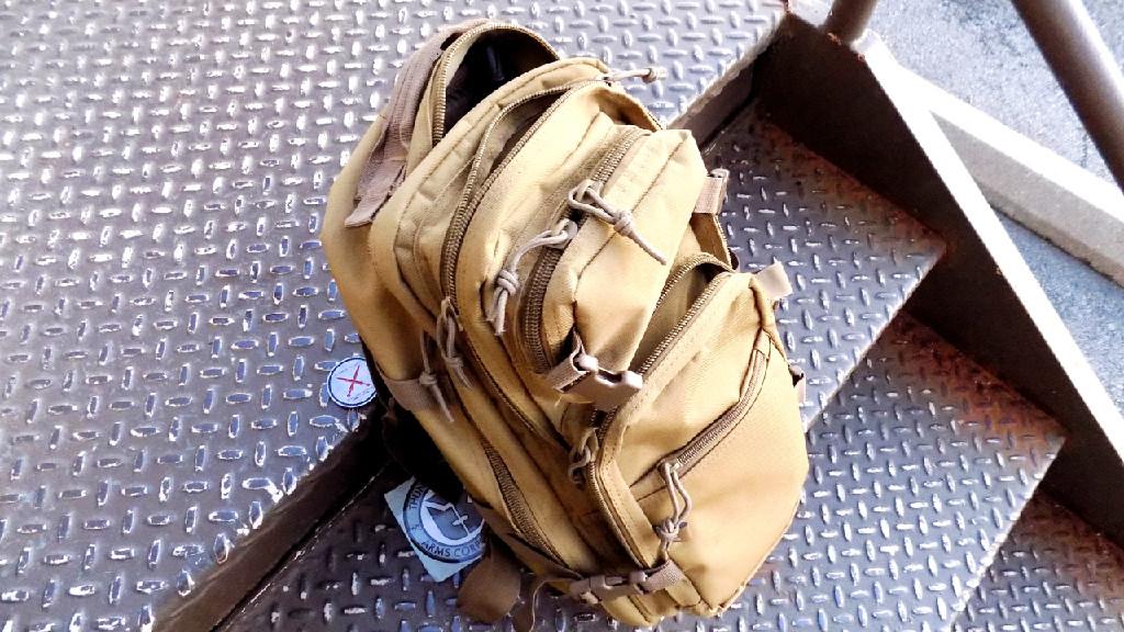 Compact Pistol Fit in Medium Pack