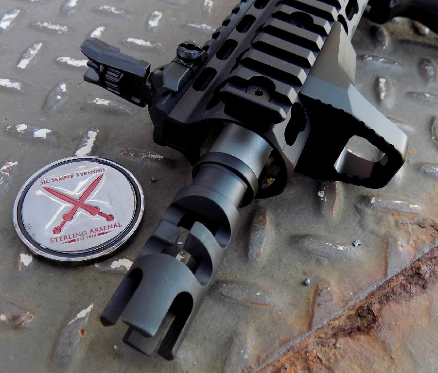 SAR-XV 416R Match Barrel, PWS Break