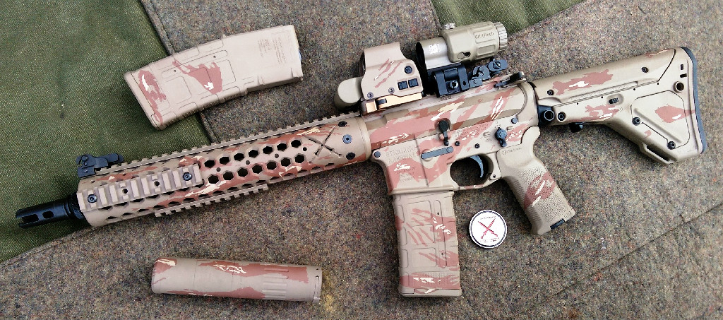 SAR-XV Combat Match 556