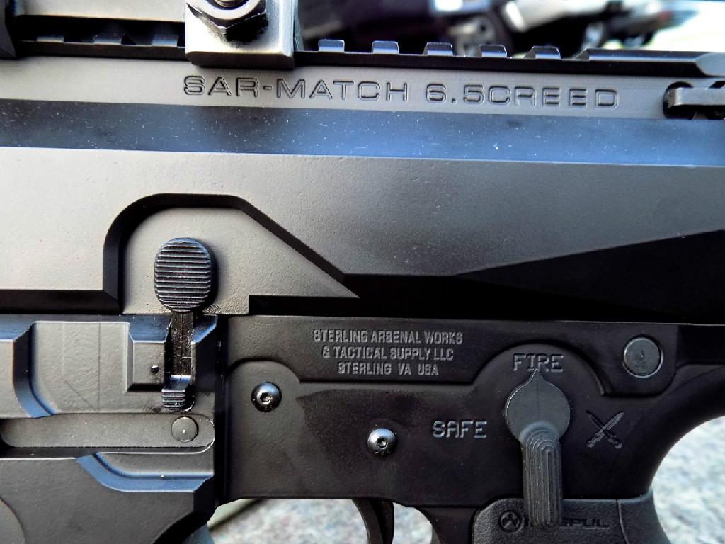 SAR-30 MATCH 6.5 CREED