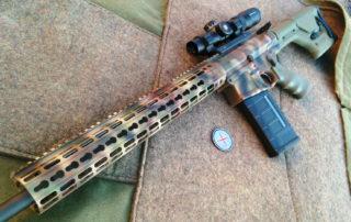 SAR-30 Battle Rifle in Predator Cammo